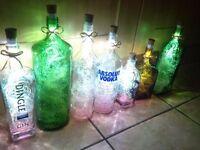 cork light designer bottles,usb charged.