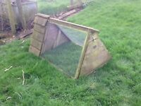 Broody coop for hen and chicks