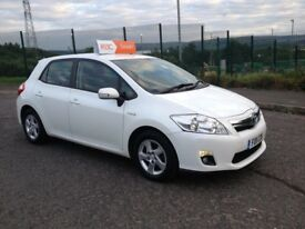 TOYOTA AURIS HYBRID 1.8 T4 5 DOOR 11-2011 0 PREVIOUS OWNER LOW MILLAGE + FULL SERVICE HISTORY