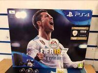 SONY PS4 1TB FIFA 18 BUNDLE BRAND NEW SEALED WITH WARRANTY & RECEIPT