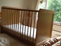 2 Mattresses 1 to fit Toddler Bed and 1 to fit Normal Cot
