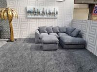BRAND NEW BARCELONA CORNER OR 3+2 SEATER SOFA AVAILABLE NOW IN STOCK