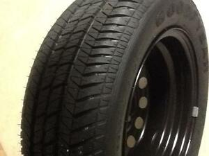 14 Inch Steel Rim Wheel with New Goodyear Eagle Tyre Redland Bay Redland Area Preview