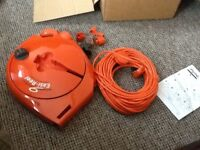 Brand New Flymo Extension Cable & Easi-Reel Cable Winder