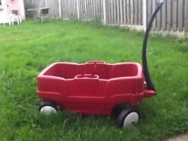 Twin seater wagon