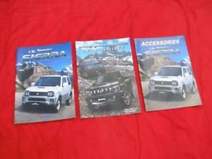 Suzuki Jimny Sierra brochures JDM 2017 rare Japanese 4x4 kei zook Kalorama Yarra Ranges Preview
