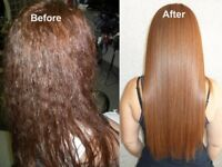 Keratin treatment hair straightening from £55 Kirkham Preston Blackpool home based/ mobile service