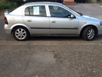 Vauxhall Astra, 1.6, silver 2 owners from new, FSH