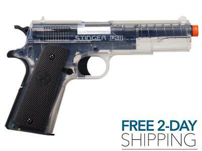 - AIRSOFT GUN PISTOL BB Spring Powered Crosman Stinger NEW Free 2 Day Shipping