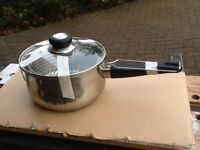 Traditional chip pan.