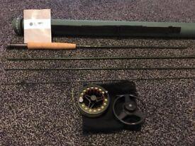 Greys GR30 fly rod & Greys GX300 4/5/6 fly reel