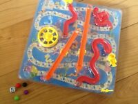 3D SNAKES N LADDERS board game (never used)