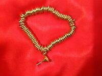 Solid Silver Link's Style Sweetie Bracelet