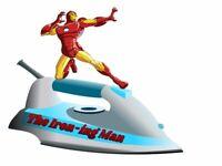 THE IRON-ING MAN Ironing Service