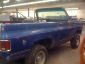 1974 GMC Jimmy full convertible, 4 speed 4x4, K5
