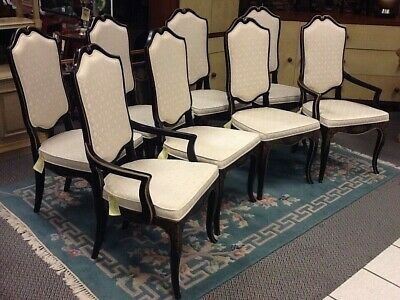 "SET OF 8 DREXEL ""ET CETERA"" DINING CHAIRS REDUCED FOR QUICK SALE!"