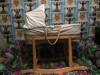 FREE*** moses basket for newborn*** FREE