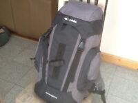 3 new/unused and others lightly used rucksacks from 30 litre to 90litre capacity-from £30 to£45 each