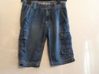 Boys shorts by Cherokee, size 7-8 years, blue