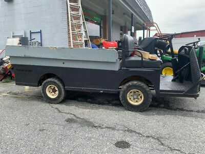Taylor Dunn B248 B2-48 Industrial Flatbed 36v Electric 3000 Lb Cap Utility Cart
