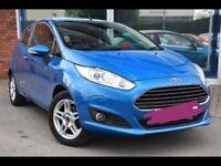 Ford Fiesta 1.25 82 Zetec 5dr nautical blue 2013