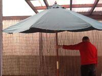 Alexander Rose garden umbrella