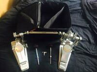 Used Pearl Demon Drive double pedals