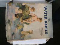 1930s original Water Babies children's story