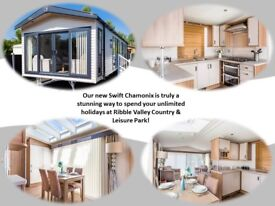 Brand New Swift Holiday Home For Sale At Ribble Valley, Gisburn, Lancashire