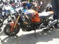 suzuki 08 hayabusa streetfighter bike minus front and rear end allso no exhaust end cans,