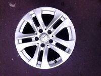 "4x 16"" Genuine Mercedes A Class C E Class Alloy Wheels"