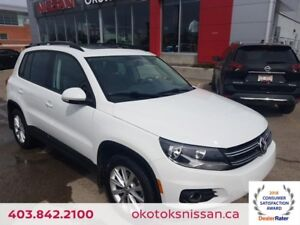 2015 Volkswagen Tiguan Highline AWD, HEATED LEATHER, PANORAMI...