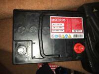 Car battery new
