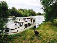 Dutch barge, perfect home or weekend retreat