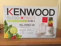 Blender Kentwood 3 in 1 , as new, 50 %