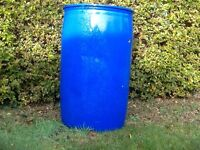 205 ltr 45 gallon plastic water butt barrel