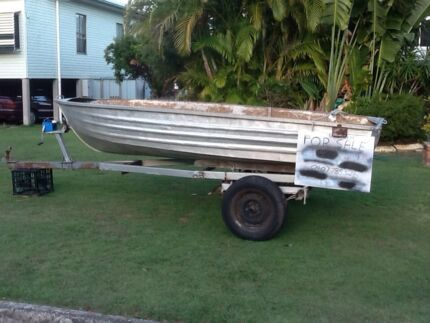 Aluminium Boat & 12 foot trailer Kippa-ring Redcliffe Area Preview
