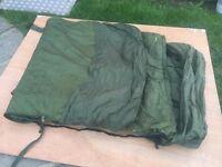 TRAKKER 365 SLEEPING BAG SYSTEM - ALL SEASON - IDEAL CARP FISHING PIKE - CATFISH - JUST £75 L@@@@K