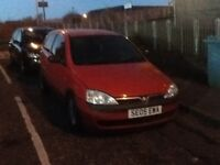 Spares or repairs 1.0 Vauxhall corsa 2005