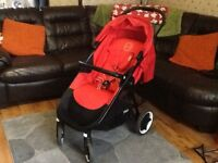 Cybex Agis M-4 air in 'hot and spicy'