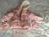 Various girls coats
