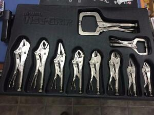 KIT DE VISE GRIP 10 Pces