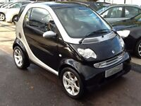 2005/55 SMART CITY 0.7 PULSE 3 DOOR AUTOMATIC,SILVER/BLACK,VERY ECONOMICAL,GREAT SPEC,DRIVES WELL