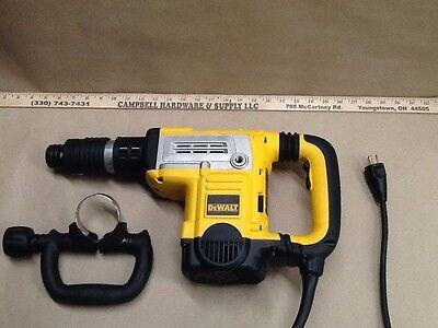 Dewalt 34 Spline 13.5-amp Keyless Demolition Hammer D25851k W Bent Chisel Bit