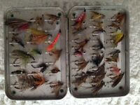 Fishing flies.