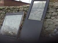 Window glass & door