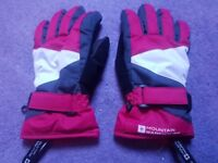 Mountain Warehouse Small Woman's Ski Snowboard Gloves