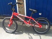 20 inch wheel red Apollo bike