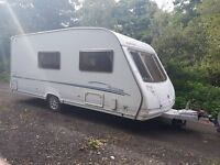 Sterling Eccles Moonstone 4 berth caravan 2007 AWNING, VGC, Bargain !!
