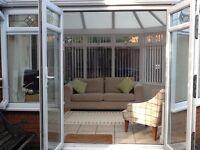 3m x 3.5m Conservatory - £500